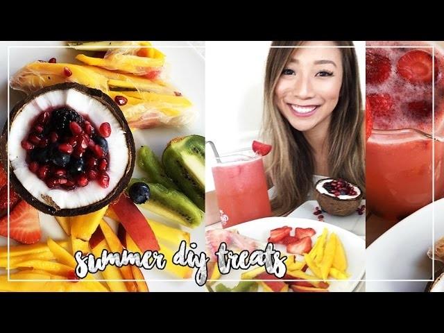 SUMMER DIY TREATS | PINTEREST INSPIRED