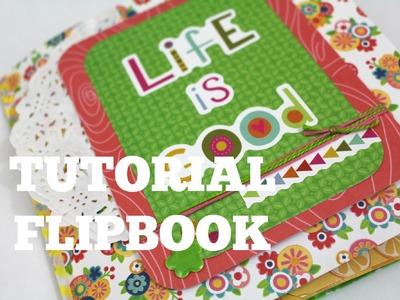 Tutorial Flipbook de Verano .  Scrapbook * Creaciones Izzy