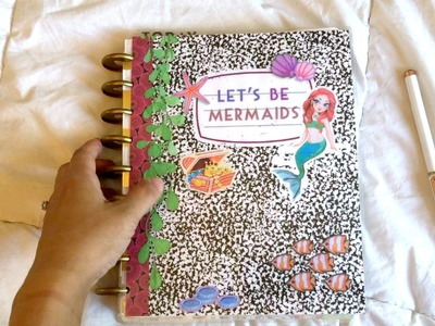 Update + Flipthrough of My Daughter's School Planner Notebook || DIY Planner Peace