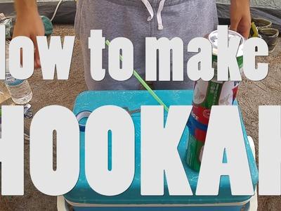 World's Easiest DIY Hookah. How to
