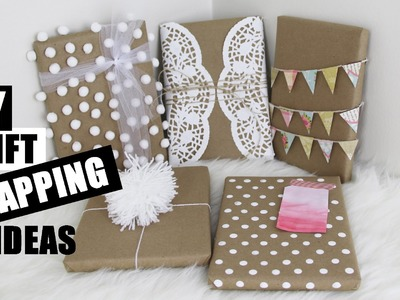 5 Easy DIY Gift Wrapping Ideas Creative and Cute | StoreeOfMyLife