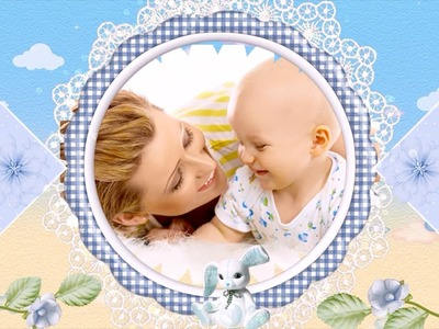 Baby Boy Slideshow Templates - For a Cute Video Scrapbook!