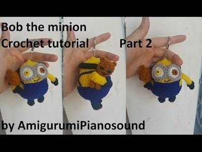 Bob the Minion Crochet Tutorial Part 2