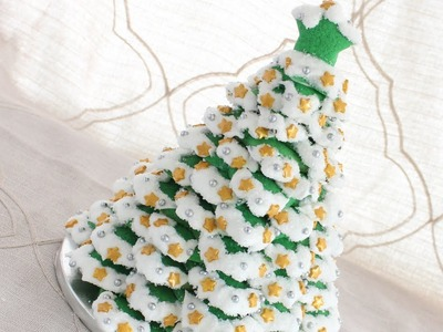 Christmas in July - 3D Wilton Cookie Tree Centrepiece