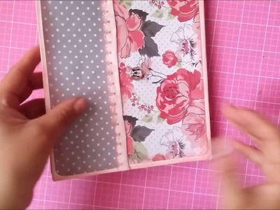 Como elaborar un mini Album scrapbook