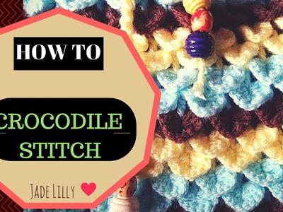 Crocodile Stitch Crochet Tutorial