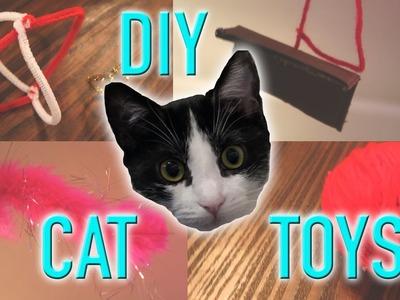 DIY CAT TOYS. easy