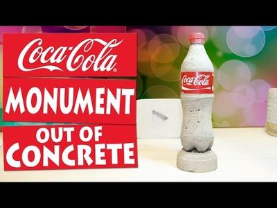 DIY Coca-Cola Bottle out of Concrete