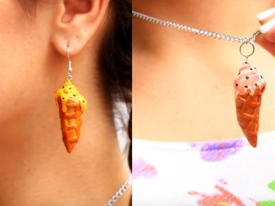 DIY Ice Cone Polymer Clay Jewelry Ideas