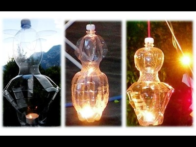 DIY LANTERNS WITH PLASTIC BOTTLES   DO IT YOURSELF