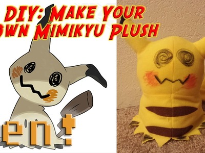 DIY: Make Your Own Mimikyu Plush | The Weekly Gaming Quick Save Show Ep.39