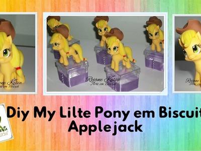 Diy My Litle Pony em biscuit (applejack) - Rejane Kesia