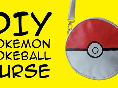 DIY Pokeball DIY Pokemon Purse: Crafty McFangirl Tutorial