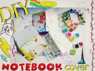 Diy| Trang trí bìa sổ tay  Notebook covers ❤