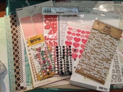 DIY: Using Your Stash to Make a Scrapbook Kit