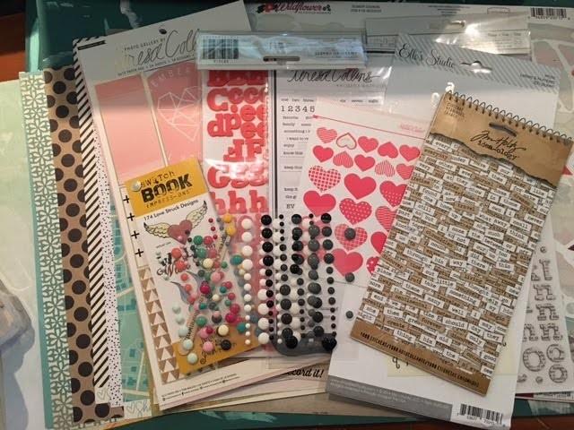DIY: Using Your Stash to Make a Scrapbook Kit