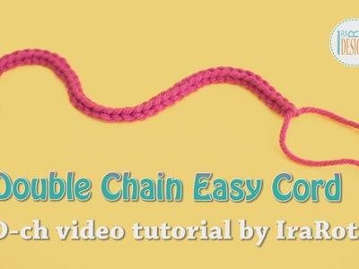 Double Chain Easy Cord Foundation Single Crochet by IraRott