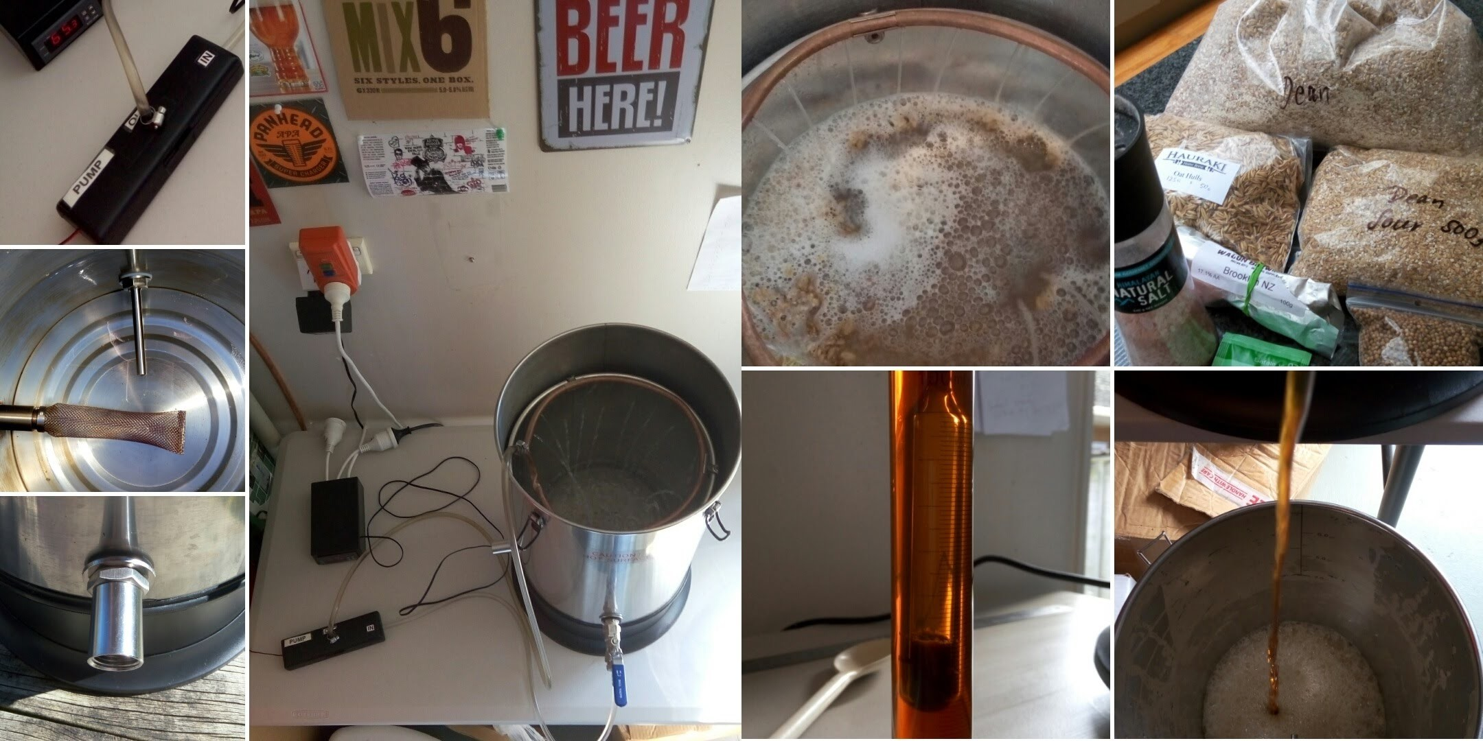 Electric RIMS Brewing System with Sparge Ring - DIY All in one - August 2016 Update