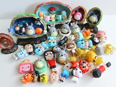 [ETSY RESTOCK] Polymer Clay Charms Update #13 : Pokemon GO , Caves & MORE
