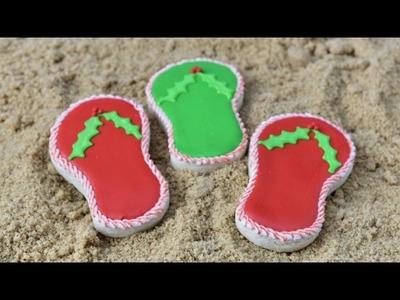 FLIP FLOP  COOKIES, CHRISTMAS IN JULY, HANIELA'S