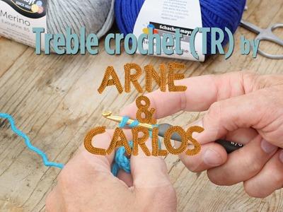 How to crochet - 5. Making a treble crochet stitch by ARNE&CARLOS