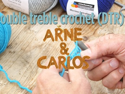 How to crochet - 6. Making a double treble crochet stitch by ARNE&CARLOS