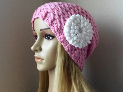 How To Crochet A Popcorn Flower, Lilu's Handmade Corner Video # 78