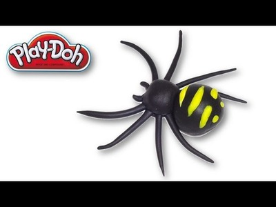 How to make a Spider from Play-Doh
