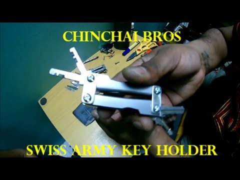 How to make a Swiss Army Key Holder