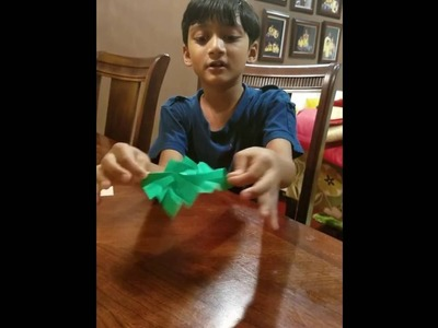 How to make an origami flasher by jeremy shafer : origami mashup episode 1