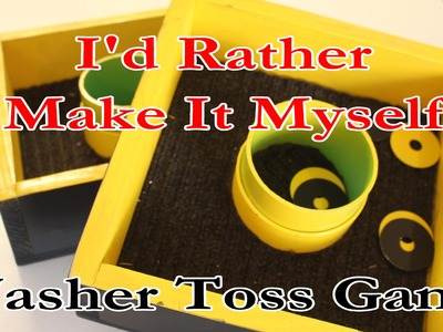 How to Make and Play a Washer Toss Game