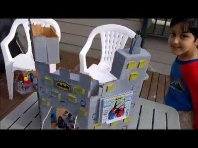 How to make cardboard batcave (the batman castle)
