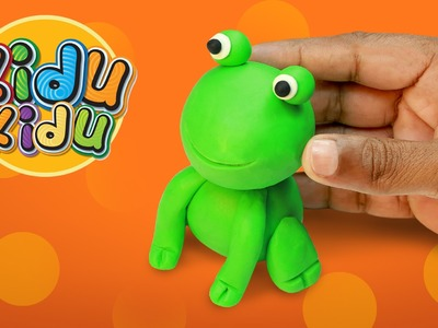 How to Make Play Doh Baby Frog