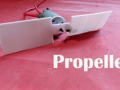 How To Make Propeller. Fan Blades At Home Diy | Easy Way