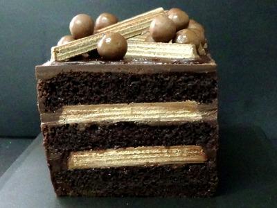 How to make yummy kit kat cake