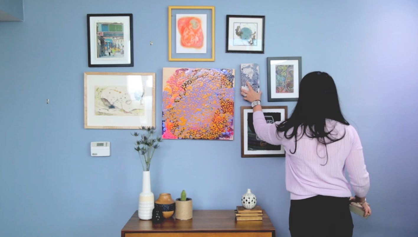 How To Properly Hang Artwork