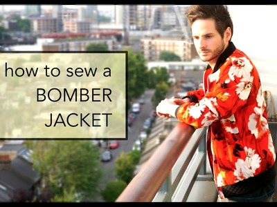 How to Sew: Men's Bomber Jacket with Lining  | DUNCAN CARTER