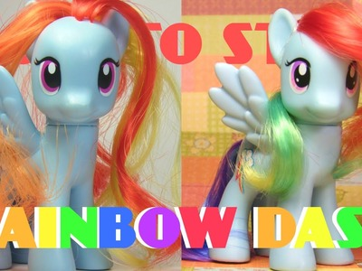 How to Style Rainbow Dash (NO CUTTING!)