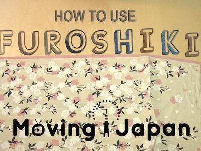 How to Use Furoshiki: Present Wrapping with Furoshiki 【Moving Japan】