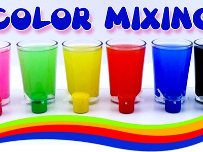 Learn Colors for Kids,Children & Toddlers Mix RAINBOW Colors Learning Videos
