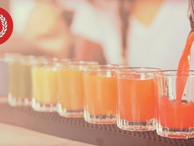 Learn to make Rainbow Shots - European Bartender School