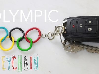 Olympics Inspired Keychain : Polymer Clay Tutorial