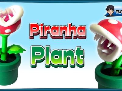 Piranha Plant (Mario) - Polymer Clay TUTORIAL (Fimo)