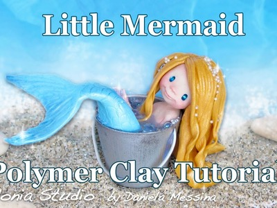 Polymer Clay Mermaid Tutorial - Easy