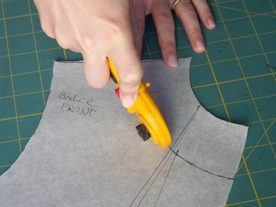 Prevent neckline gaping!  Dropped Neckline Alterations - Sewing Project 1: The Bodice