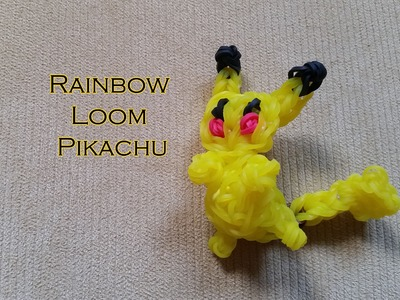 Rainbow Loom Pikachu Tutorial (male)