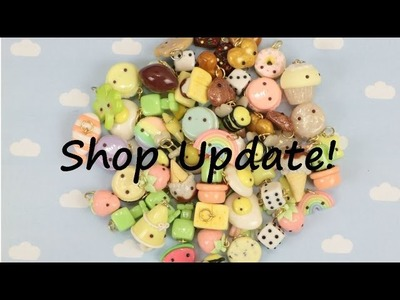 Simply Kawaii Polymer Clay Charms Shop Update!