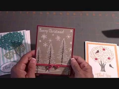 Stampin' Up! Thoughtful Branches Christmas