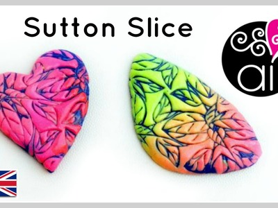 Sutton Slice Cabochon | Polymer Clay Tutorial | Lisa Pavelka Textures | ENG