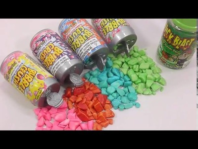 Toilet Candy, Drinks Gum, Sour Candy Spray Review!! Rainbow Color